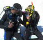 Dive instruction